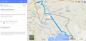Map to Angono