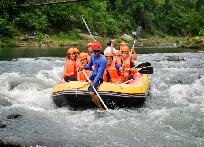 Magdalena: White Water Rafting, Cliff Diving, and Water Tubing