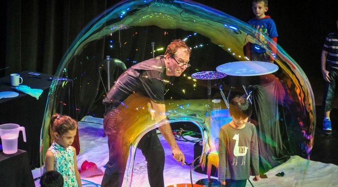 The Amazing Bubble Man Show